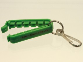 kite-line-clip grün